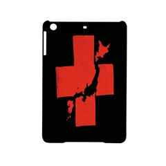 Sign Health Red Black iPad Mini 2 Hardshell Cases