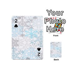 Sign Flower Floral Transparent Playing Cards 54 (Mini)
