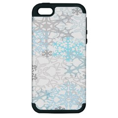 Sign Flower Floral Transparent Apple iPhone 5 Hardshell Case (PC+Silicone)
