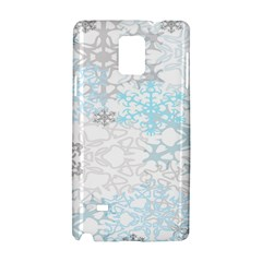 Sign Flower Floral Transparent Samsung Galaxy Note 4 Hardshell Case
