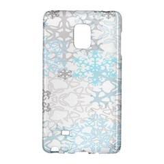 Sign Flower Floral Transparent Galaxy Note Edge