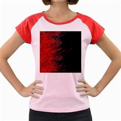 Fire Women s Cap Sleeve T-Shirt