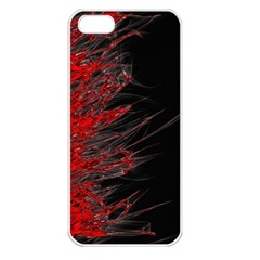 Fire Apple iPhone 5 Seamless Case (White)