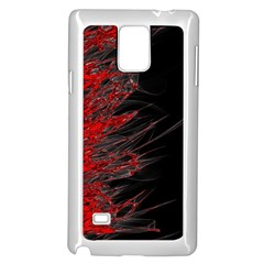 Fire Samsung Galaxy Note 4 Case (White)
