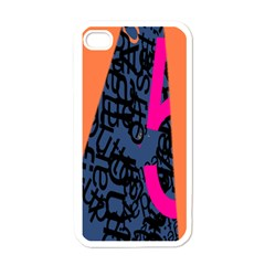 Recursive Reality Number Apple iPhone 4 Case (White)