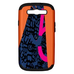 Recursive Reality Number Samsung Galaxy S III Hardshell Case (PC+Silicone)