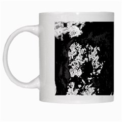 Abstraction White Mugs