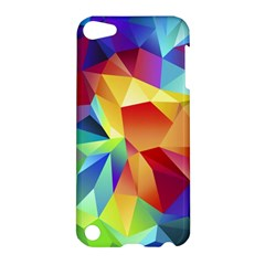 Triangles Space Rainbow Color Apple iPod Touch 5 Hardshell Case