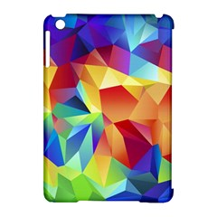 Triangles Space Rainbow Color Apple iPad Mini Hardshell Case (Compatible with Smart Cover)