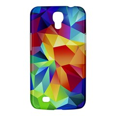 Triangles Space Rainbow Color Samsung Galaxy Mega 6.3  I9200 Hardshell Case
