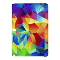 Triangles Space Rainbow Color Samsung Galaxy Tab Pro 10.1 Hardshell Case