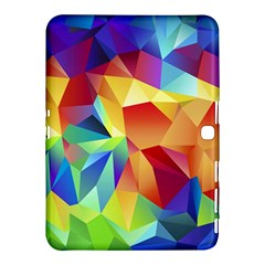 Triangles Space Rainbow Color Samsung Galaxy Tab 4 (10.1 ) Hardshell Case
