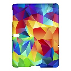 Triangles Space Rainbow Color Samsung Galaxy Tab S (10.5 ) Hardshell Case