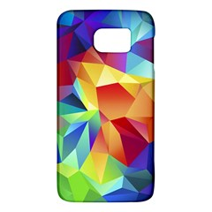 Triangles Space Rainbow Color Galaxy S6