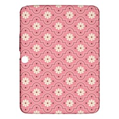 Sunflower Star White Pink Chevron Wave Polka Samsung Galaxy Tab 3 (10.1 ) P5200 Hardshell Case