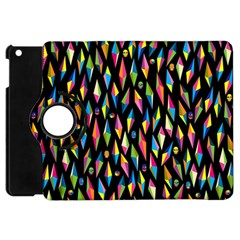 Skulls Bone Face Mask Triangle Rainbow Color Apple iPad Mini Flip 360 Case