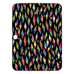 Skulls Bone Face Mask Triangle Rainbow Color Samsung Galaxy Tab 3 (10.1 ) P5200 Hardshell Case