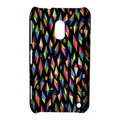 Skulls Bone Face Mask Triangle Rainbow Color Nokia Lumia 620