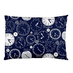 World Clocks Pillow Case (Two Sides)