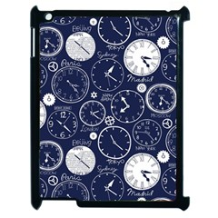 World Clocks Apple iPad 2 Case (Black)