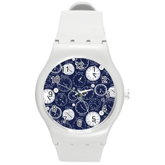 World Clocks Round Plastic Sport Watch (M)