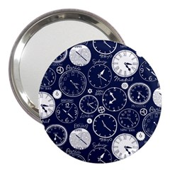 World Clocks 3  Handbag Mirrors
