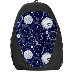 World Clocks Backpack Bag