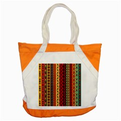 Tribal Grace Colorful Accent Tote Bag