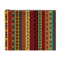 Tribal Grace Colorful Cosmetic Bag (XL)