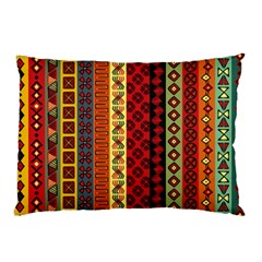 Tribal Grace Colorful Pillow Case (Two Sides)