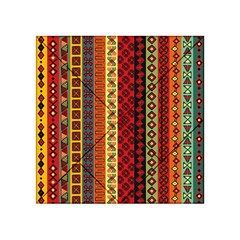 Tribal Grace Colorful Acrylic Tangram Puzzle (4  x 4 )