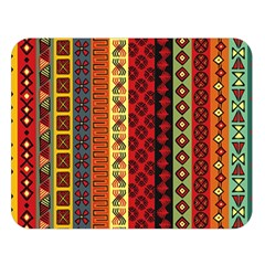Tribal Grace Colorful Double Sided Flano Blanket (Large)