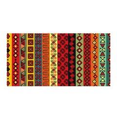 Tribal Grace Colorful Satin Wrap