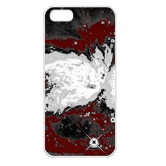 Abstraction Apple iPhone 5 Seamless Case (White)