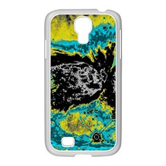 Abstraction Samsung GALAXY S4 I9500/ I9505 Case (White)