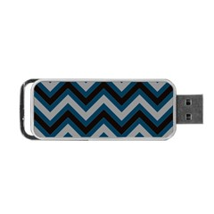 Abstraction Portable USB Flash (One Side)