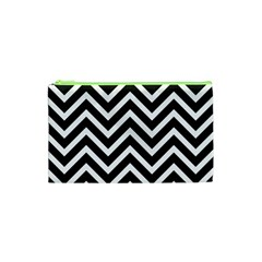Zigzag pattern Cosmetic Bag (XS)