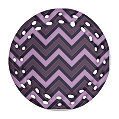Zigzag pattern Ornament (Round Filigree)