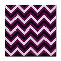 Zigzag pattern Tile Coasters