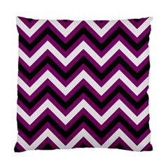 Zigzag pattern Standard Cushion Case (Two Sides)