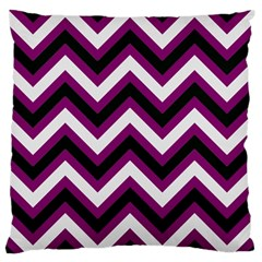 Zigzag pattern Standard Flano Cushion Case (Two Sides)