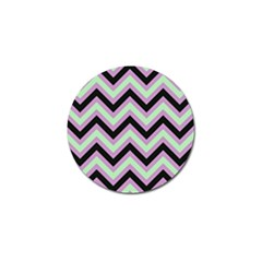 Zigzag pattern Golf Ball Marker (4 pack)