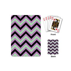 Zigzag pattern Playing Cards (Mini)