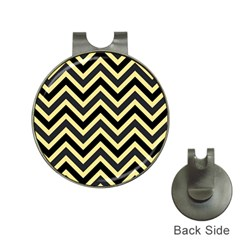 Zigzag Pattern Hat Clips With Golf Markers