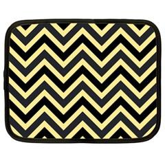 Zigzag pattern Netbook Case (XL)