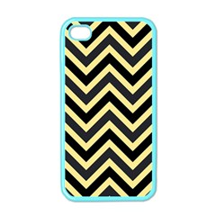 Zigzag pattern Apple iPhone 4 Case (Color)