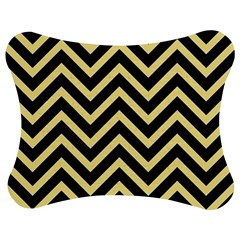 Zigzag pattern Jigsaw Puzzle Photo Stand (Bow)