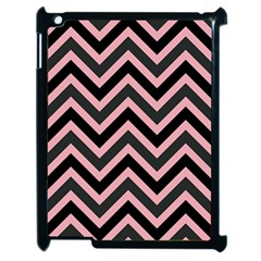 Zigzag pattern Apple iPad 2 Case (Black)