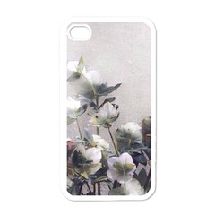 Watercolour Apple iPhone 4 Case (White)