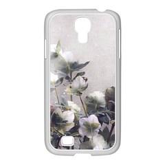 Watercolour Samsung GALAXY S4 I9500/ I9505 Case (White)